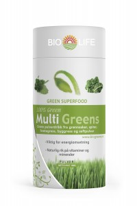 Bio Life Multi Greens pulverdrikk