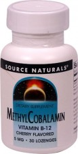 MethylCobalamin Source Naturals