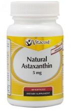 Natural Astaxanthin 5 mg Vitacost