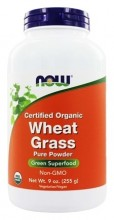 Wheat grass (Hvetegress) 9 oz Now