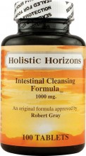 Holistic Horizons Intestinal Cleansing Formula tabletter