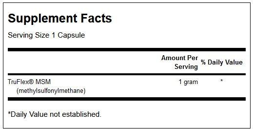 Msm Methylsulfonylmethane innhold