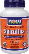 Spirulina now