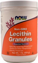 Lecithin granulat NOW