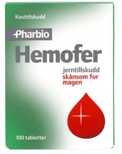 Hemofer Jerntilskudd