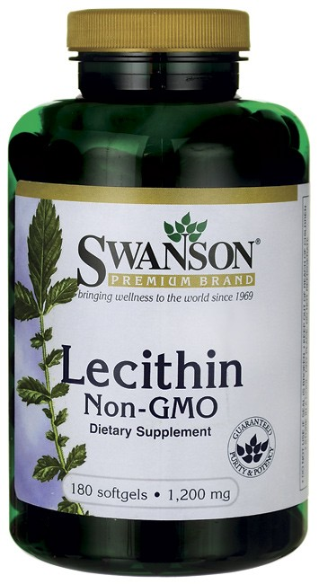 Lecithin - 1,200 mg Swanson