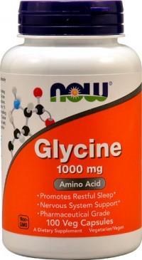 Glycine now 100 kapsler