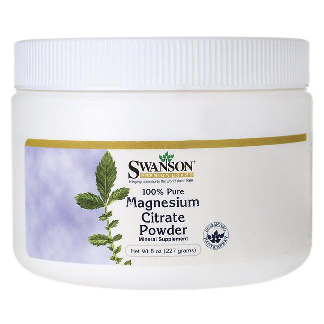Magnesium Citrate Powder Swanson