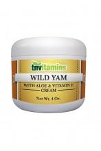 Wild Yam Cream med Aloe & Vitamin E