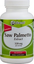 Saw Palmetto Extract Vitacost 160mg