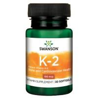 K2 Vitamin MK-7 100 mcg 3x30stk