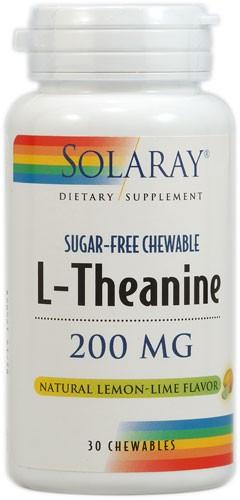 L-Theanine - Teanin Tyggekapsler