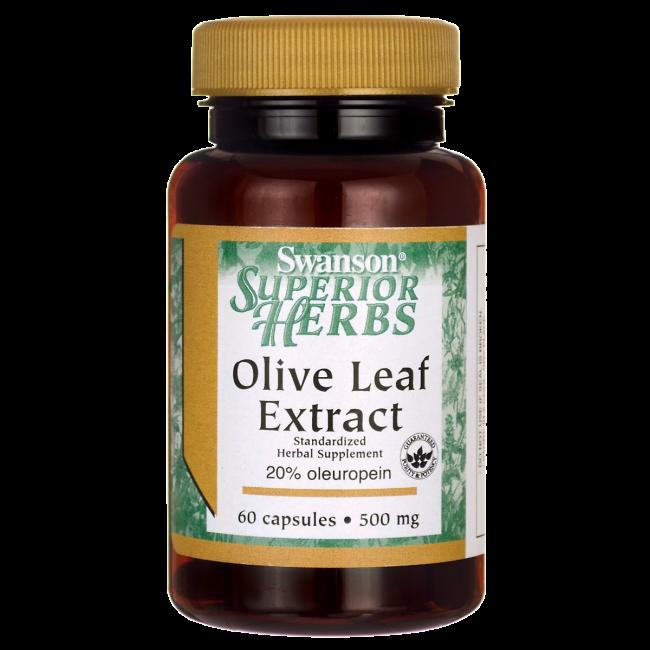 Olive Leaf (Olivenblad) Superior 60 kapsler