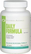 Multivitamin - Universal Nutrition Daily Formula 100 tabletter