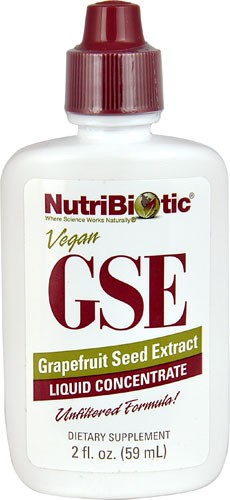 Vegan GSE Grapefruit Seed Extract