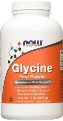 Glycine Powder Now (454g)
