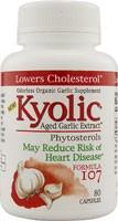 Kyolic Aged Garlic Extract Formula 107, 80 kpsl.