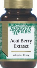 Acai Berry Extract 25mg
