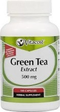 Green Tea (grønn te) Extract 300 Vitacost