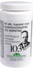Axel. O. Hansens`s Blanding nr 103 90 Kapsler