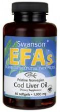 EcOmega Cod Liver Oil- Torskeleverolje