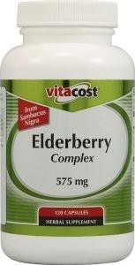 Elderberry (Hyllebær) Complex Vitacost