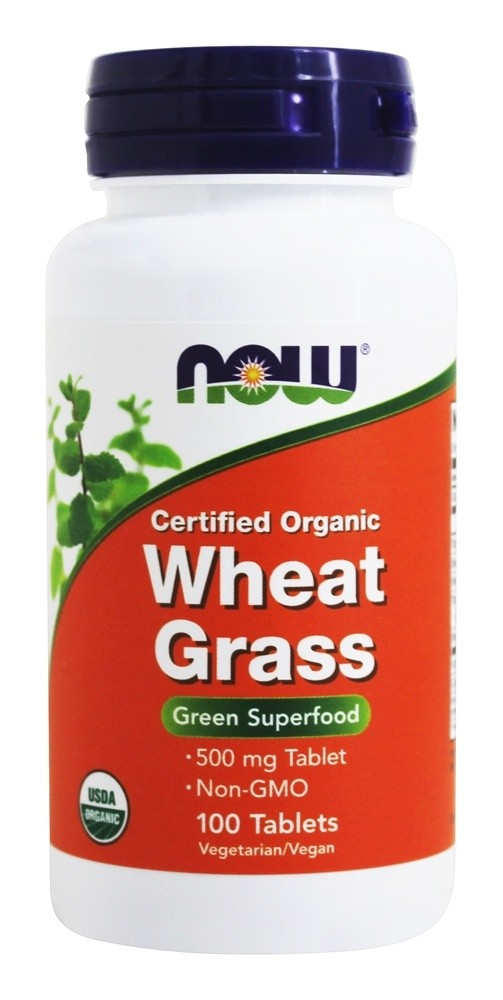 Wheat Grass - Hvetegress 100 tabl. Now