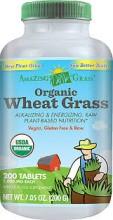 Wheat Grass - Hvetegress 200 tabl. Amazing
