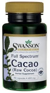 Cacao (Raw Cocoa) Swanson