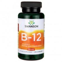 Vitamin B-12 500 mcg 250 kpsl