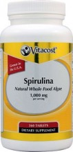 Spirulina 360 Tbl. Vitacost