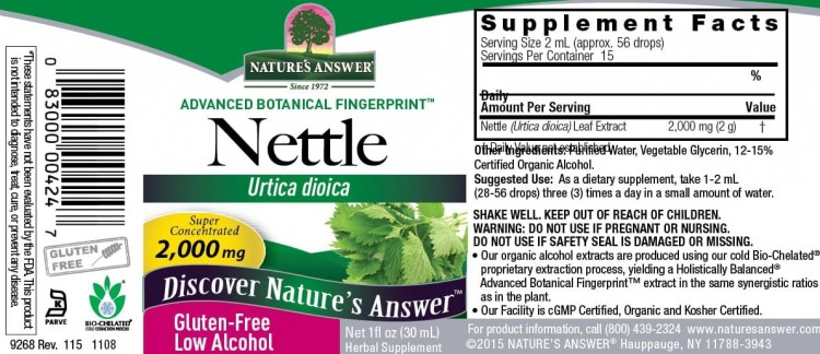 Nettle Nature`s Answer