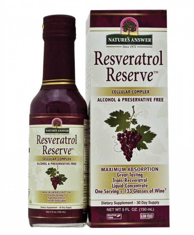 Resveratrol Reserve Nature´s Answer