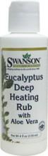 Eucalyptus med Aloe Vera  Deep Heating Rub