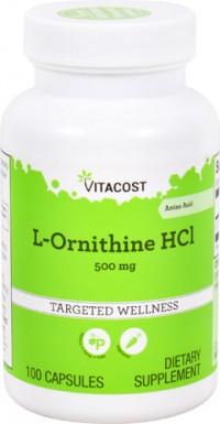 L-Ornithine 100 kpsl. Vitacost