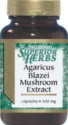 Agaricus Blazei Mushroom Ekstrakt