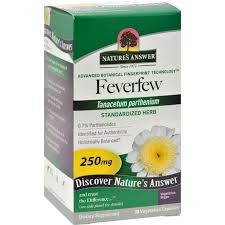 Feverfew kapsler Natures Answer