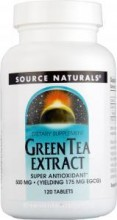 Green Tea (Grønn Te) Extract 500 mg SN