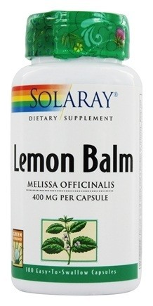 Lemon Balm - Sitronmelisse Solaray