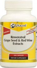 Resveratrol + Grape Seed & Red Wine Extracts Vitacost